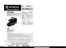Buy Hitachi VM7500LA Service Manual by download Mauritron #291013