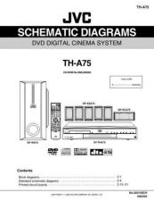 Buy JVC TH-A75-4 Service Manual by download Mauritron #283716