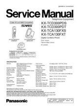 Buy Panasonic KX-TCA130EXT[][] Manual by download Mauritron #299779