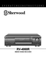 Buy Sherwood RV4060 Operating Guide by download Mauritron #316281