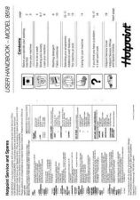 Buy Hotpoint 9518 Washer Operating Guide by download Mauritron #307416
