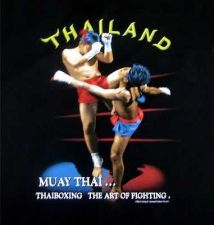 Buy T SHIRT MUAY THAI BOXING BLACK THE ART OF FIGHTING SIZE L
