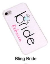 Buy iPhone Cover - Bling Bride