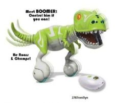 Buy Remote Control Dinosaur Green Zoomer Boomer Children's Toy Gift NEW for 2014