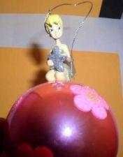 Buy Disney Tinkerbelle Tinker Bell glass ball star ornament