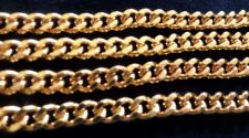 "Buy 18K Gold Overlay Cuban Curb Chain Link Necklace 6mm .Lifetime Warranty 18"" - 36"""