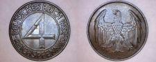 Buy 1932-A Weimar Germany 4 Pfennig World Coin
