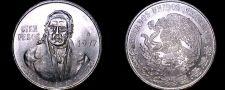 Buy 1977 Mexican 100 Peso World Silver Coin - Mexico Morelos - Low 7s