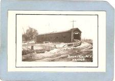 Buy New York Buskirk Covered Bridge Postcard Covered Bridge Real Photo Post Ca~1063
