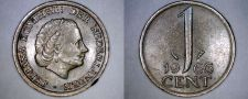 Buy 1966 Netherlands 1 Cent World Coin