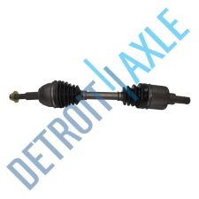 Buy Front Passenger Side CV Drive Axle Shaft w/o ABS AX4N Transmission