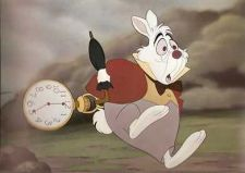 Buy Disney Alice Wonderland White Rabbit Lobby Card