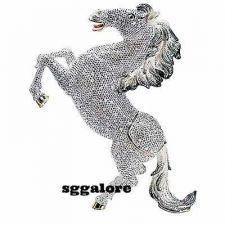 Buy Large Limited RUCINNI Swarovski Crystals MUSTANG HORSES Minaudiere Trinket BOX