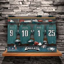 Buy NFL Locker Room Canvas Prints - Free Personalization