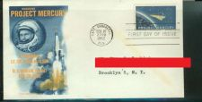 Buy VINTAGE ORIGINAL Project Mercury.John Clenn .Space cover of Cape Canaveral 1962.