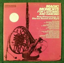 Buy General Electric / MAGIC MOMENTS For Listening and Dancing ~ DOUBLE Stereo LP