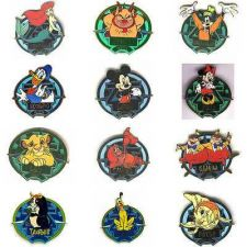 Buy WDW - Zodiac POM Series set of 12 LE authentic Disney on original cards pin/pin