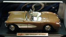 Buy Maisto 1957 Special Edition - Chevy Corvette Convertible Bronze 1:18 Diecast Car