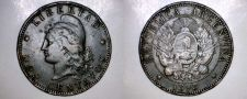 Buy 1893 Argentina 2 Centavo World Coin