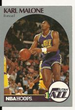 Buy 1990 - 1991 Fleer Hoops Karl Malone Utah Jazz #292 Basketball Card