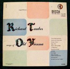Buy SONGS of OLD VIENNA ** Richard Tauber