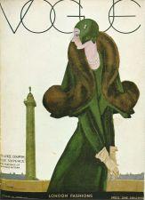 Buy Vogue 1929 Cover Print by Lepape London Fashions Art Deco 1984 original print