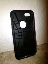 Buy Tough Armor Case for iPhone 5 5s TPU and Polycarbonate (Black) HQ