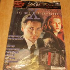 Buy Topps The Xfiles Magazine Original Plastic and Card- Collectors Edition #1