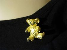 Buy Sarah Coventry Jewelry... Teddy Bear Pin Brooch.. #1024