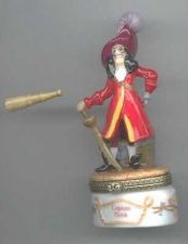 Buy Disney Villain Peter Pan Captain Hook Porcelain PHB