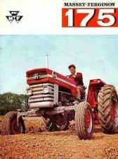 Buy MASSEY FERGUSON MF 175 OPERATIONS MANUAL for MF175 Tractor Service & Maintenance