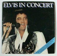 """Buy ELVIS PRESLEY ~ """" Elvis In Concert """" 1977 DOUBLE Rock LP"""