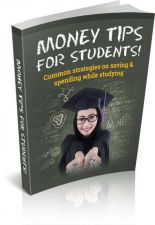 Buy Money Tips For Students Ebook + 10 Free eBooks With Resell rights ( PDF )