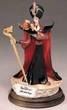 Buy Jafar and Iago from Aladdin Villain Disney Capodimonte Laurenz COA.Original Box