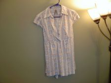 Buy Old Navy Patterned Womens Short-Sleeved Career Blouse 100% Cotton NWT Size M