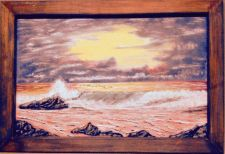 Buy Beach Sunset ~ A beautiful sunset along the beach is always calming in it'~7