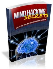 Buy Mind Hacking Secrets Ebook + 10 Free eBooks With Resell rights ( PDF )
