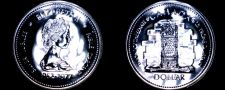 Buy 1977 PL Canadian Silver Dollar World Coin - Canada Silver Jubilee