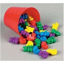 Buy 50 Counting Bears with 5 Cups