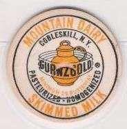 Buy New York Cobleskill Milk Bottle Cap Name/Subject: Mountain Dairy Gurnzgold~194