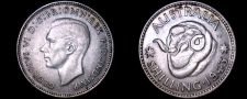 Buy 1943(m) Australian 1 Shilling World Silver Coin - Australia