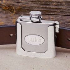 Buy Belt Buckled Flask - Free Personalization