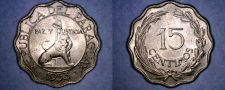Buy 1953 Paraguay 15 Centimos World Coin