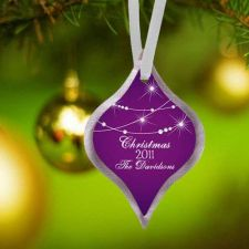 Buy Christmas Ornament - 7 Designs to choose from - Free Personalization