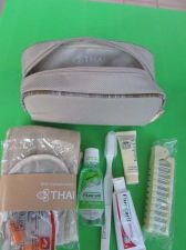 Buy New Amenity Kit in CRABTREE & EVELYN Travel Bag Thai Airways Airline Keepsake