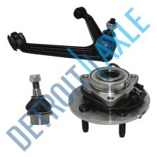 Buy 3pc Kit of 1 Wheel Hub and Bearing w/ABS 1 Upper Control Arm 1 Lower Ball Joint