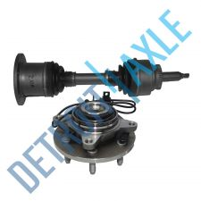 Buy Front Driver or Passenger CV Axle Shaft + Wheel Hub and Bearing Assembly w/ ABS