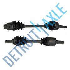 Buy Complete Front Driver and Passenger Side CV Axle Shaft - MT w/o ABS - USA Made