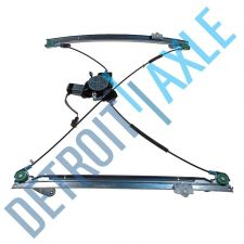 Buy NEW Power Front Power Driver Side Window Regulator Assembly with Motor