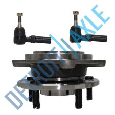 Buy NEW 3 pc Kit - Front Wheel Hub and Bearing Assembly + 2 Outer Tie Rod End Set